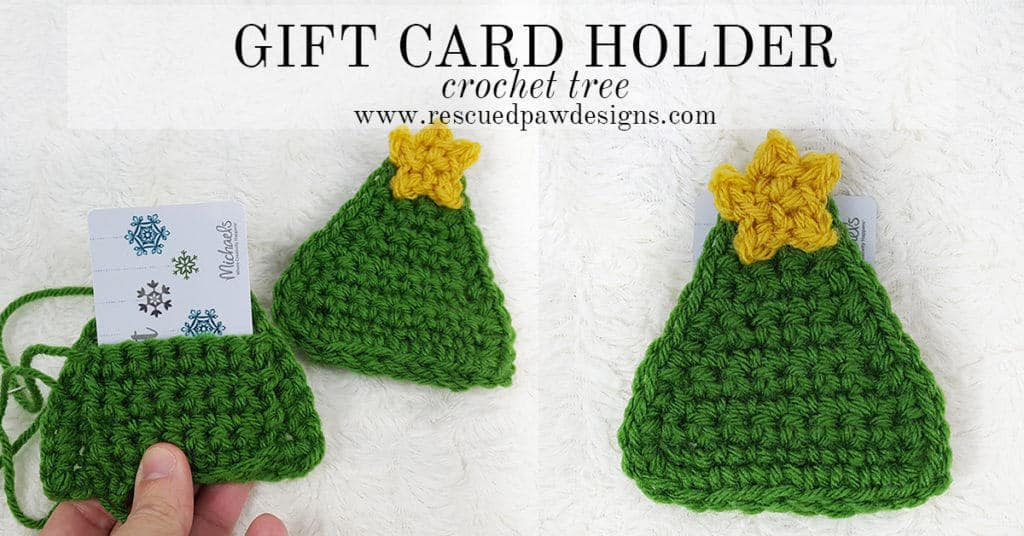 Crochet Tree Gift Card Holder - Great for Christmas Gift Cards by Easy Crochet