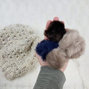 crochet puff stitch beanie pattern by Easy Crochet