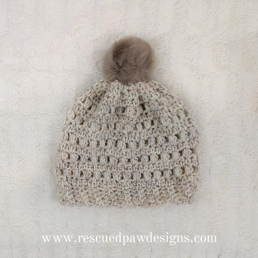 Puff Stitch Beanie Crochet Pattern