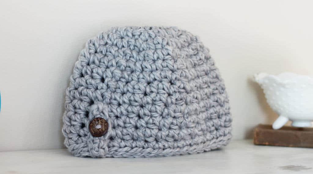 free messy bun crochet pattern
