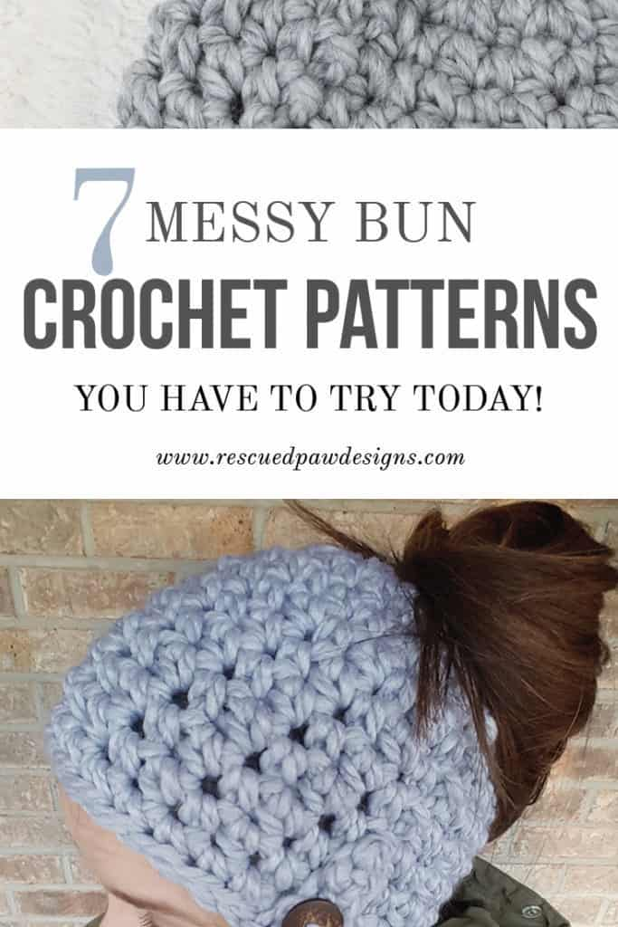 7 Messy Bun Crochet Patterns You Have To Try Today!