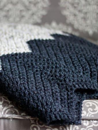 Ten Striped Crochet Blankets