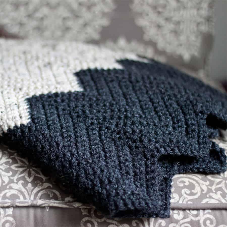 10 Striped Crochet Blanket Patterns Rescued Paw Designs