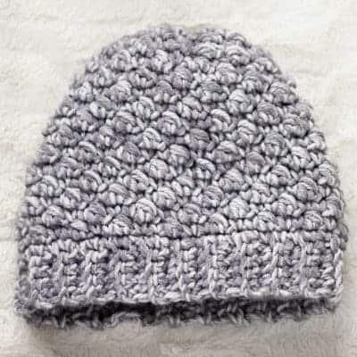 Emily Diagonal Beanie Crochet Pattern