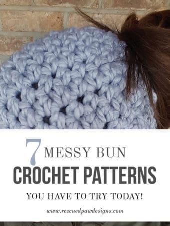 The 7 Best Messy Bun Crochet Patterns
