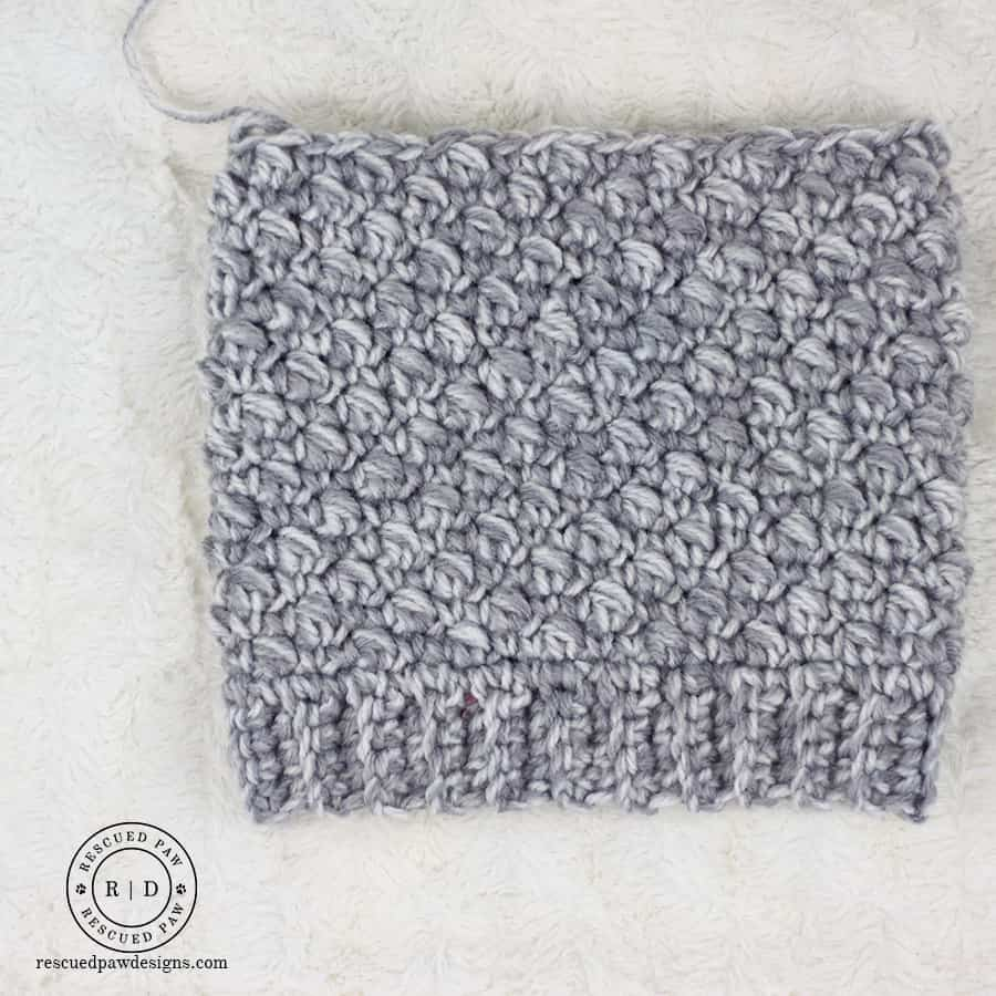 Emily Slouch Beanie Free Crochet Pattern - Rescued Paw Designs