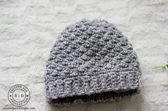 Easy Puff Diagonal Crochet Pattern