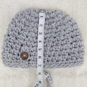 Free Crochet Messy Bun Beanie Pattern