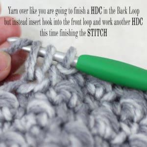 How to Crochet the Emily Beanie