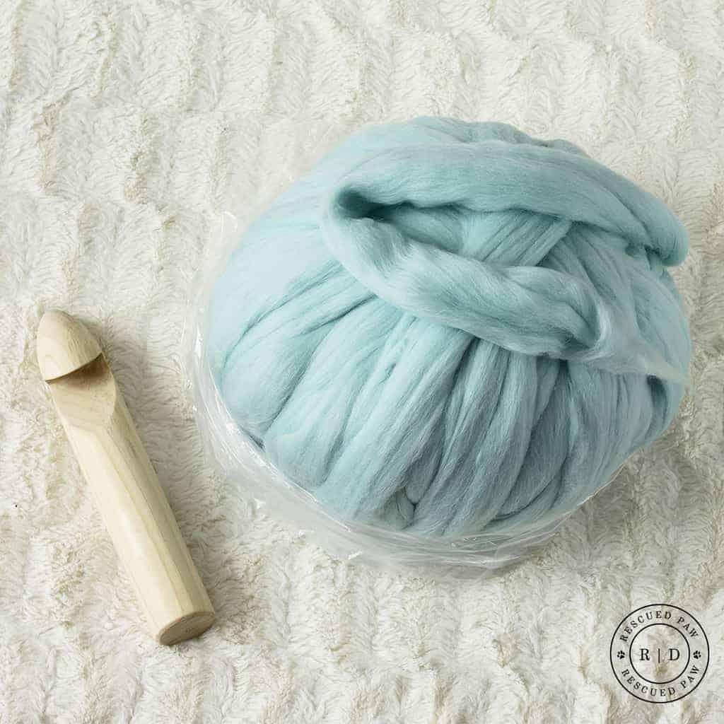 Giant Yarn Blanket Pattern Using Wool Easy Crochet