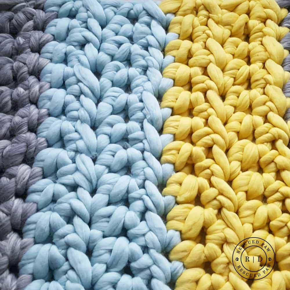 Big Stitch Extreme Crochet Blanket Pattern by Rescued Paw Designs. Click to Read or Pin and Save for Later!