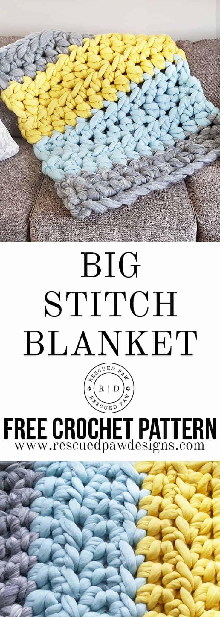 Extreme Crochet Blanket Pattern