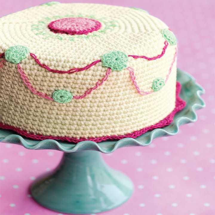 Cake Knitting Patterns : 7 Sweet Crochet Patterns ? Rescued Paw Designs Crochet by ...