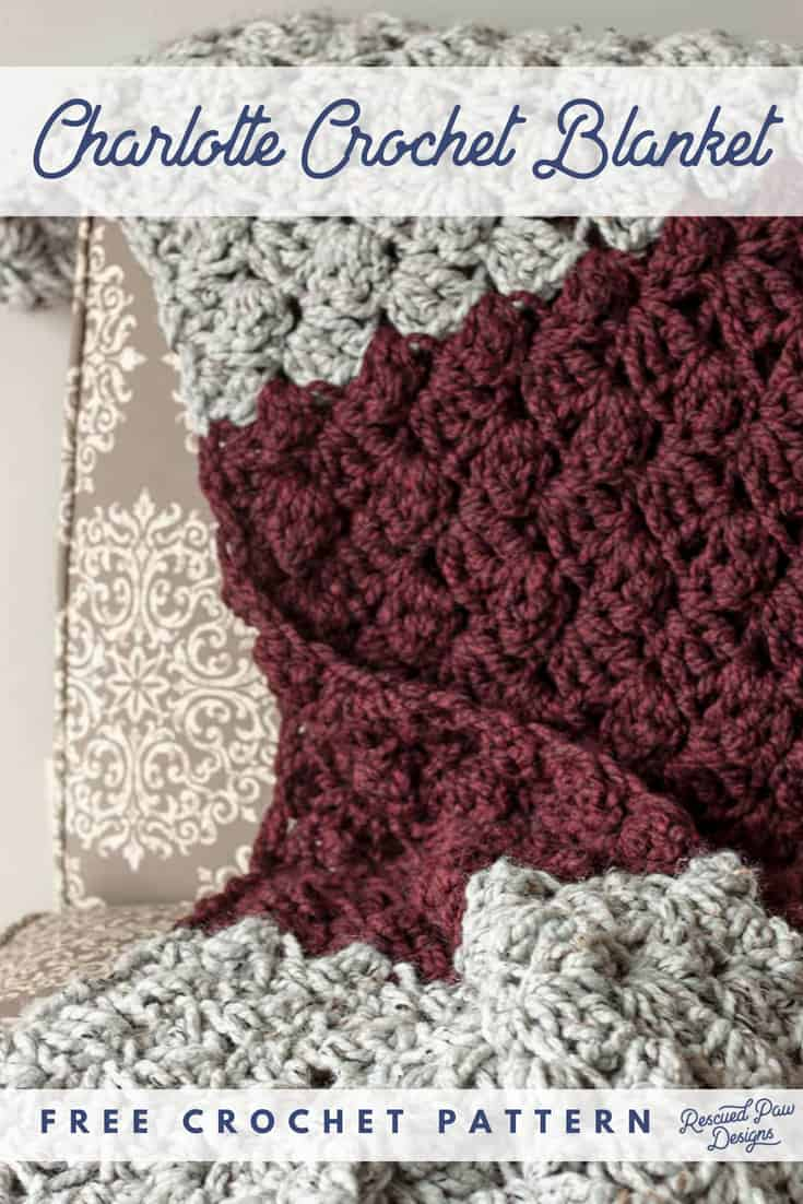 Simple Crochet Blanket Pattern