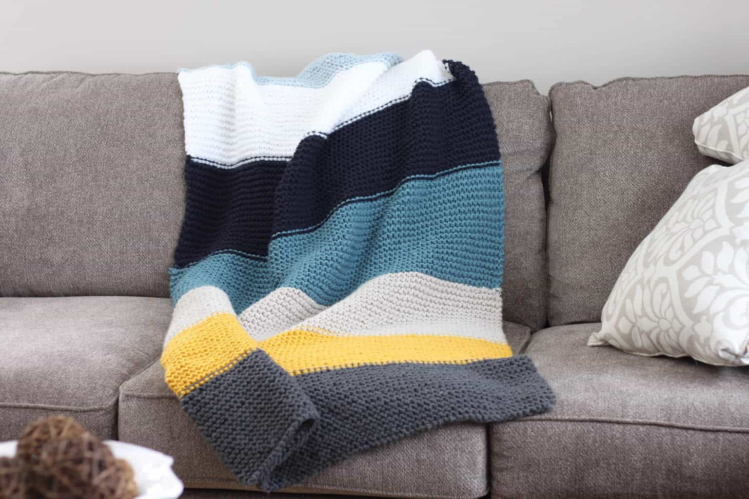 How to knit a blanket pattern