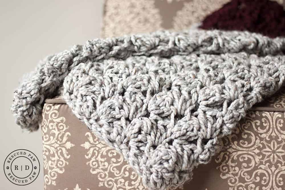 BLanket Stitch Crochet Blanket Pattern