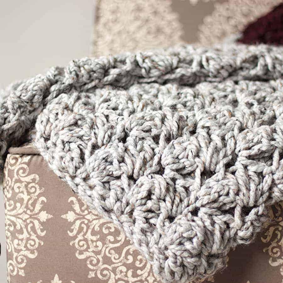 Charlotte Crochet Blanket - Rescued Paw Designs Crochet