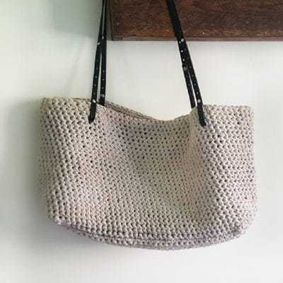 Carrie Tote Bag Crochet Kit