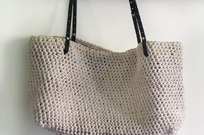 Carrie Tote Bag Crochet Kit