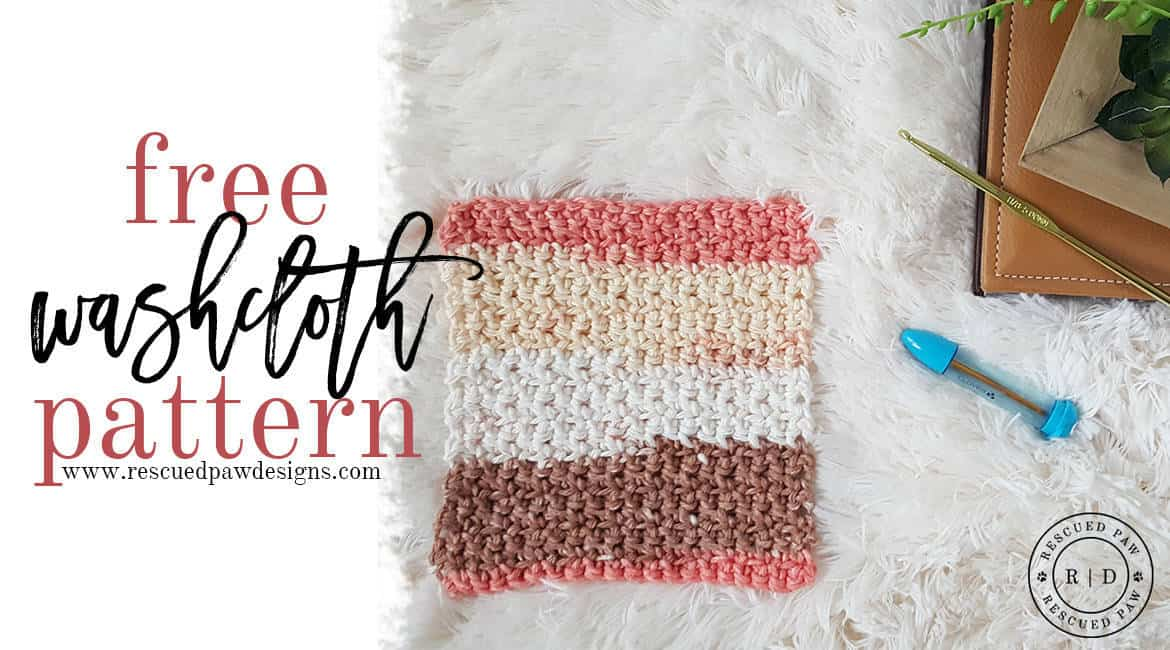 Simplest Crochet Washcloth Ever - Free Crochet Pattern by Easy Crochet - Click to get the Pattern or Pin and save for later!