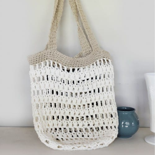 Beach Friendly Crochet Tote Patterns ⋆ Rescued Paw Designs