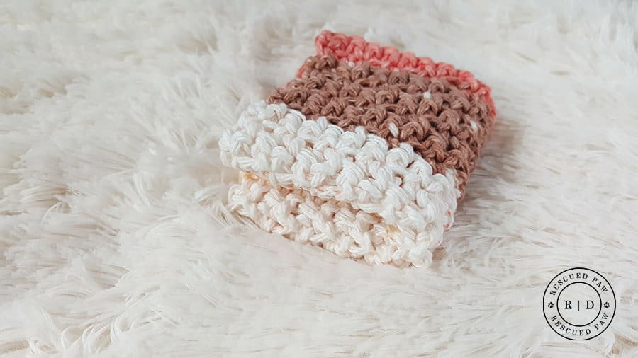 Simplest Crochet Washcloth Ever