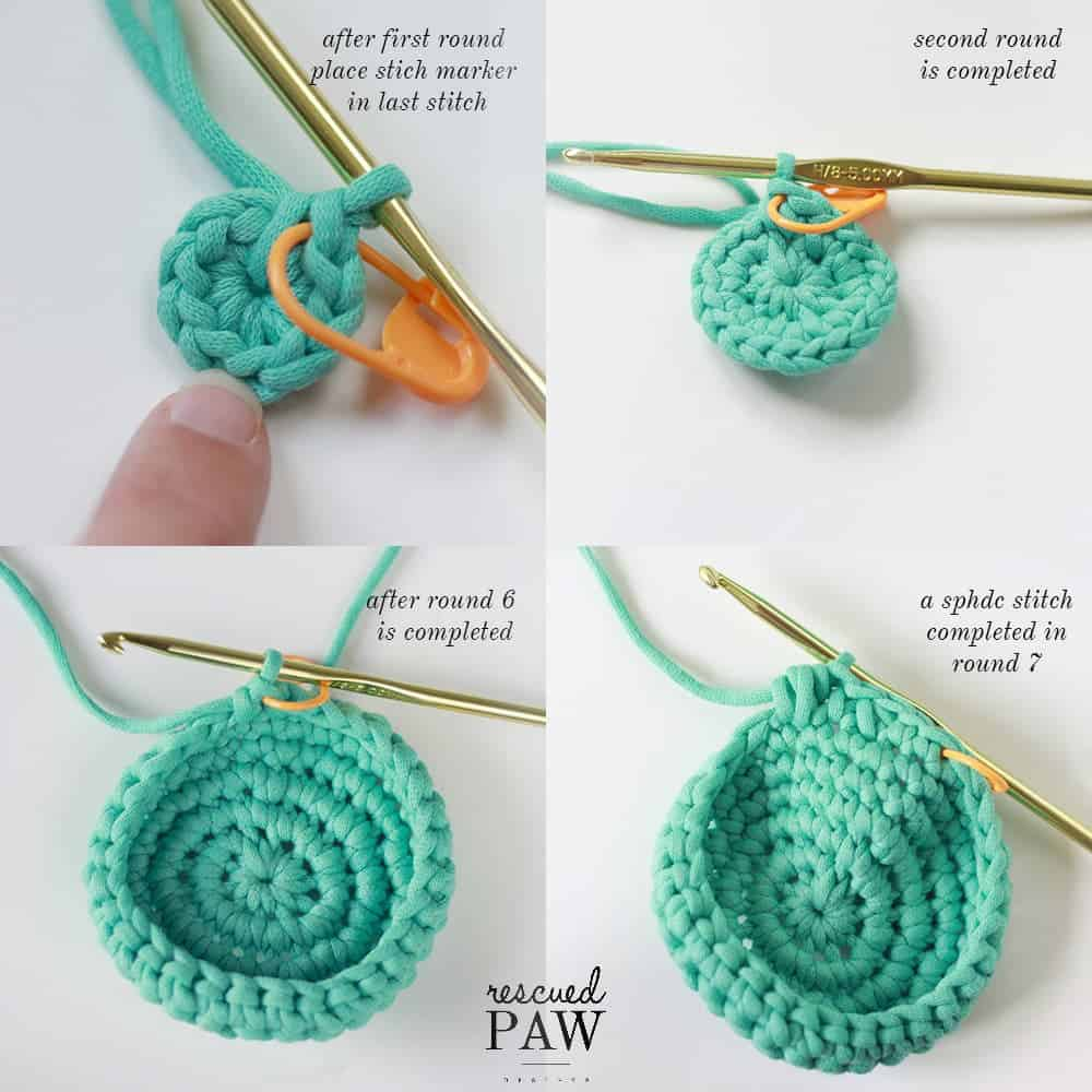 How to make a crochet plant holder