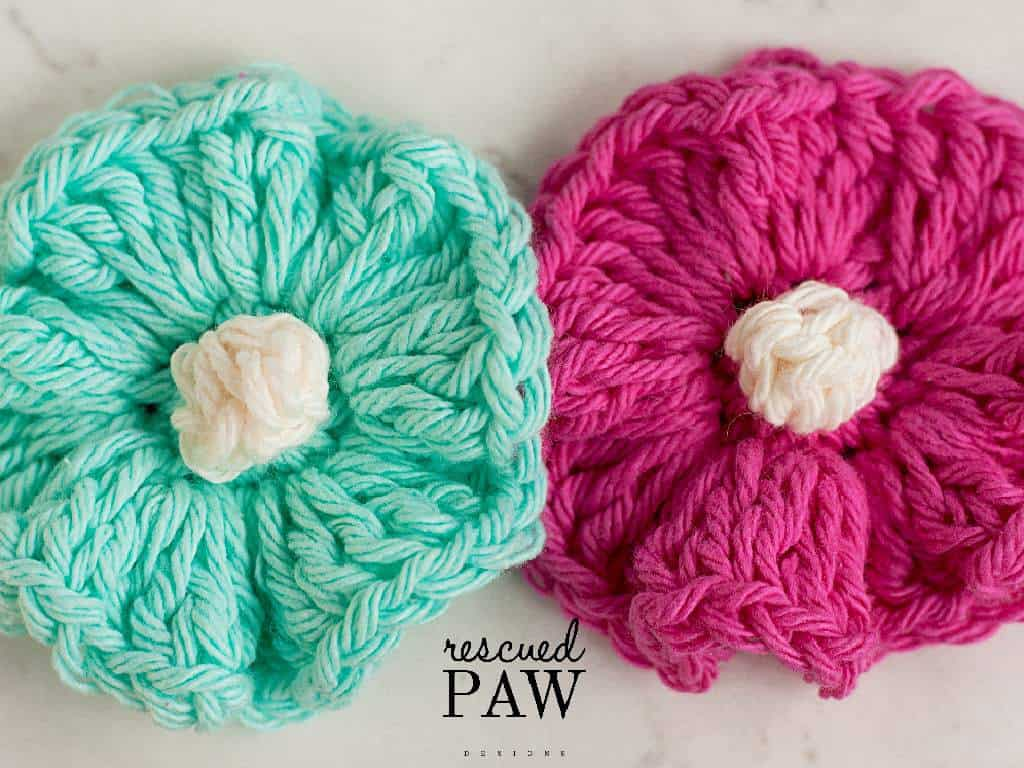 Rippling Crochet Flower by Easy Crochet - Click to Read or Pin and Save for For Later! Find more Free Crochet Patterns at www.easycrochet.com