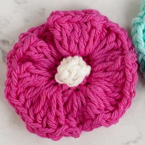Rippling Crochet Flower