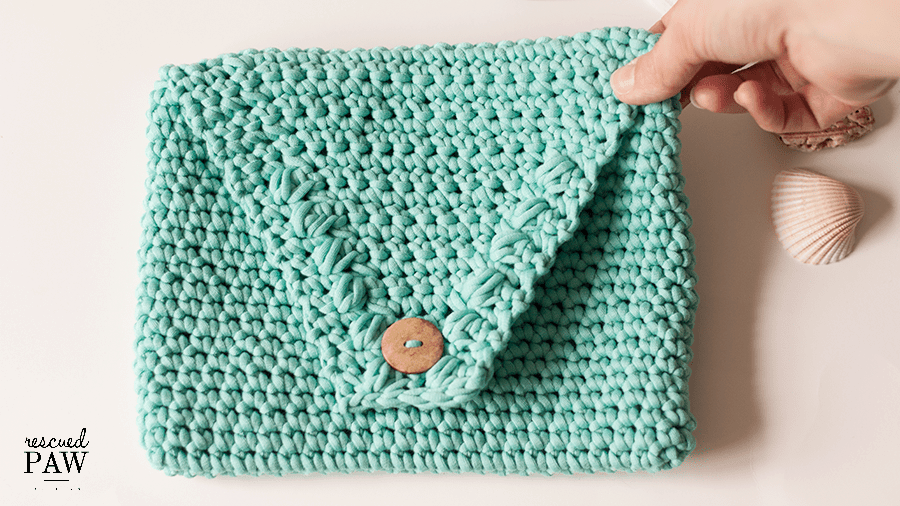 Easy Crochet Clutch Pattern