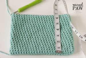 BEACH GLASS CROCHET CLUTCH - Free Crochet Pattern by Rescued Paw Designs. Click to Read or Pin and Save for Later!