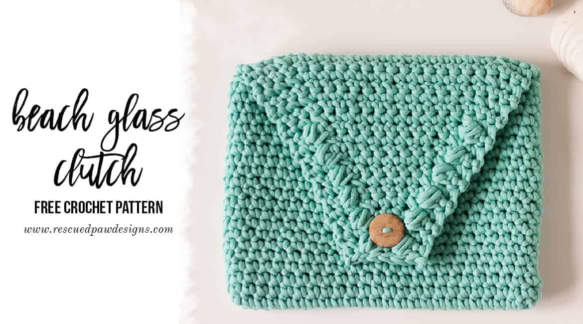Beach Clutch Bag Crochet