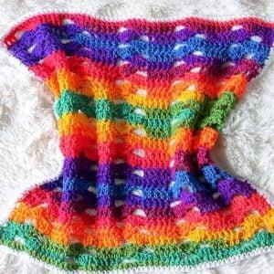 Rainbow Cluster Blanket