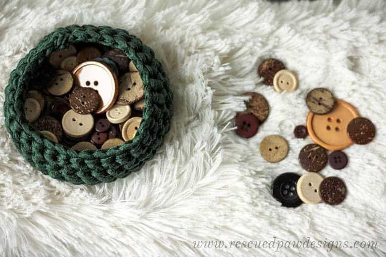 Mini Crochet Basket Pattern