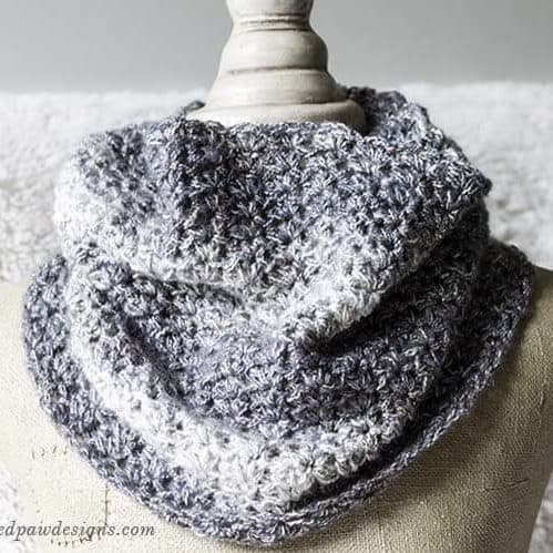 Square Image of the Shimmering Snow Cowl