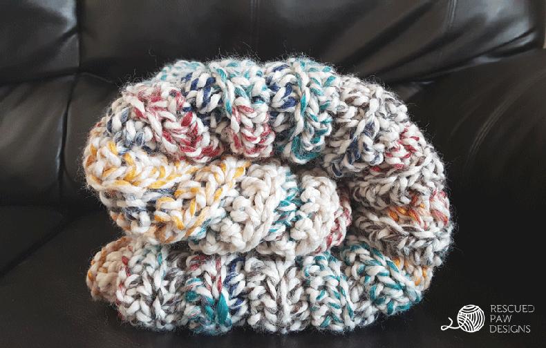 Chunky Crochet Blanket -