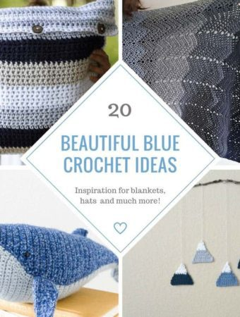 20 Beautiful Blue Crochet Patterns