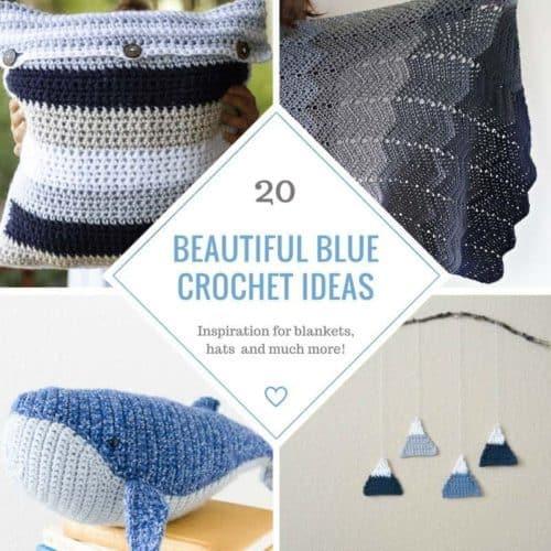 20 Beautiful Blue Crochet Patterns