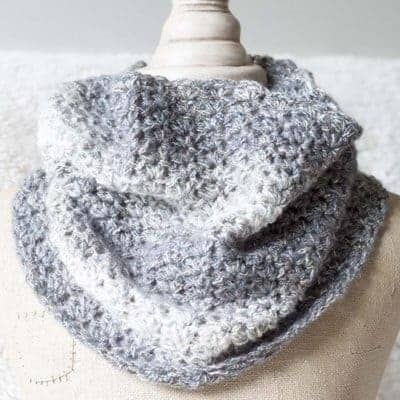Shimmering Snow Cowl