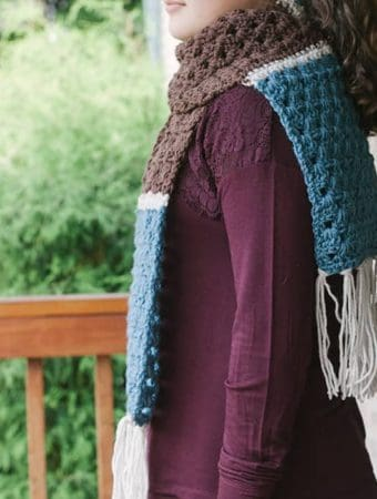 Simple Granny Scarf
