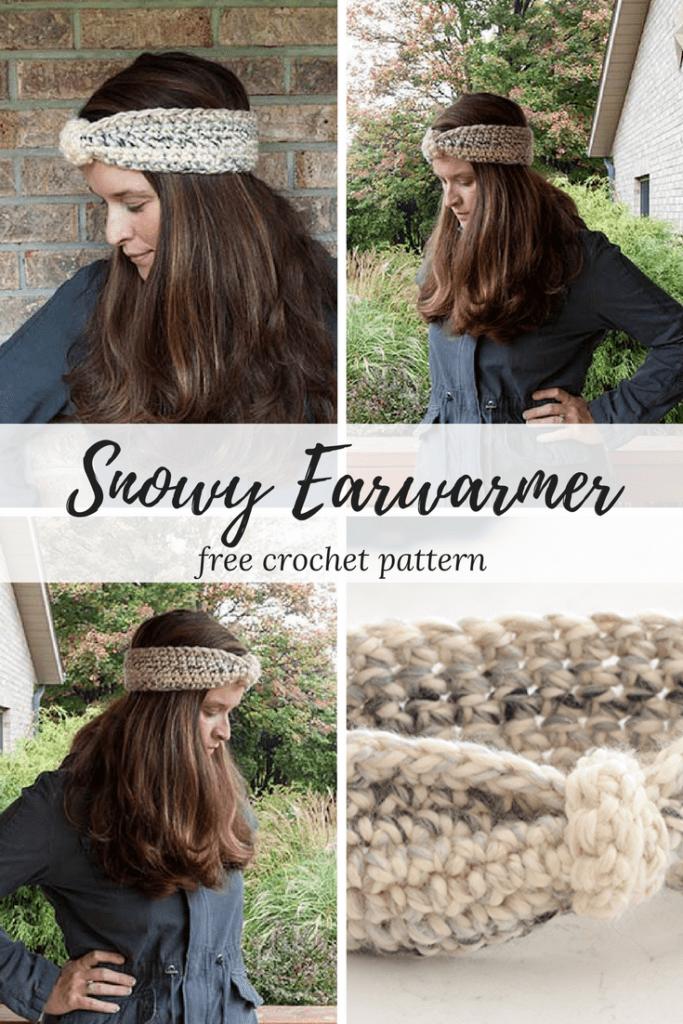 Crochet ear warmer pattern for beginners