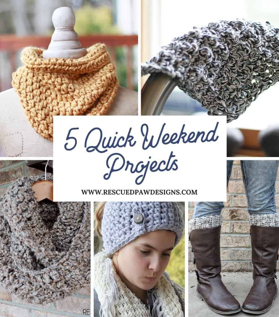 Quick Weekend Crochet Patterns