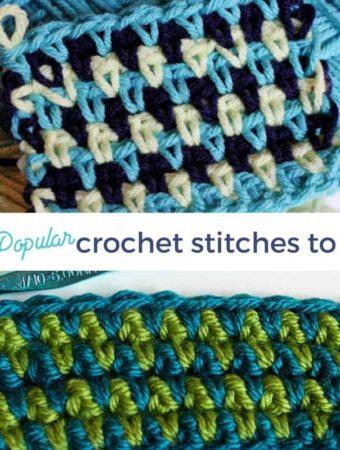 Easy Crochet Stitches
