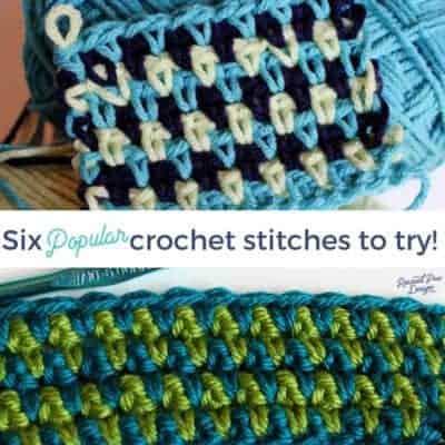 6 Popular Crochet Stitches