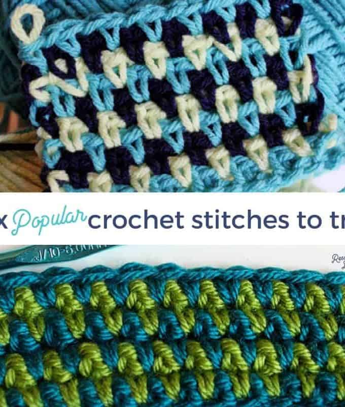 6 Popular Crochet Stitches