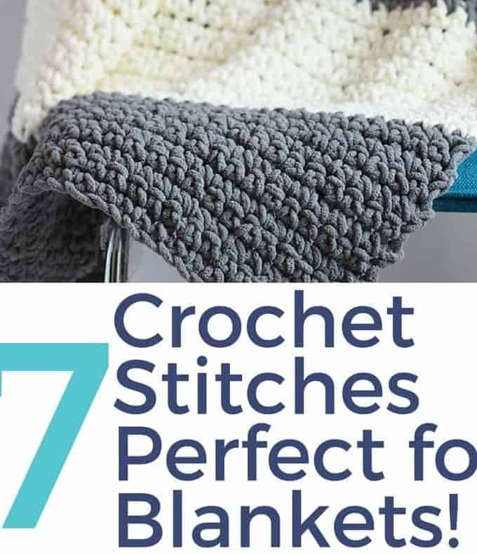 Crochet Stitches for Blankets
