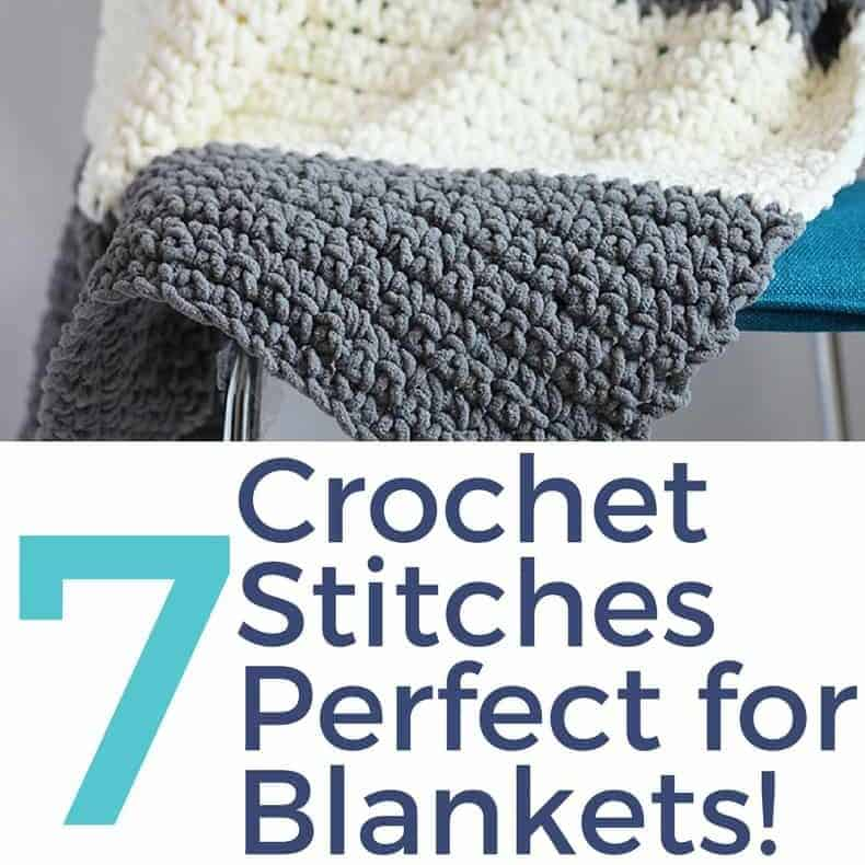 The 7 Best Crochet Stitches For Blankets Different Crochet