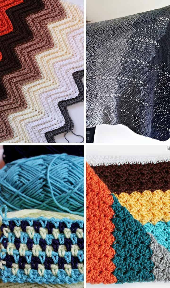 Crochet Stitches that are Perfect for Blankets! Make a crochet blanket today using these stitches!
