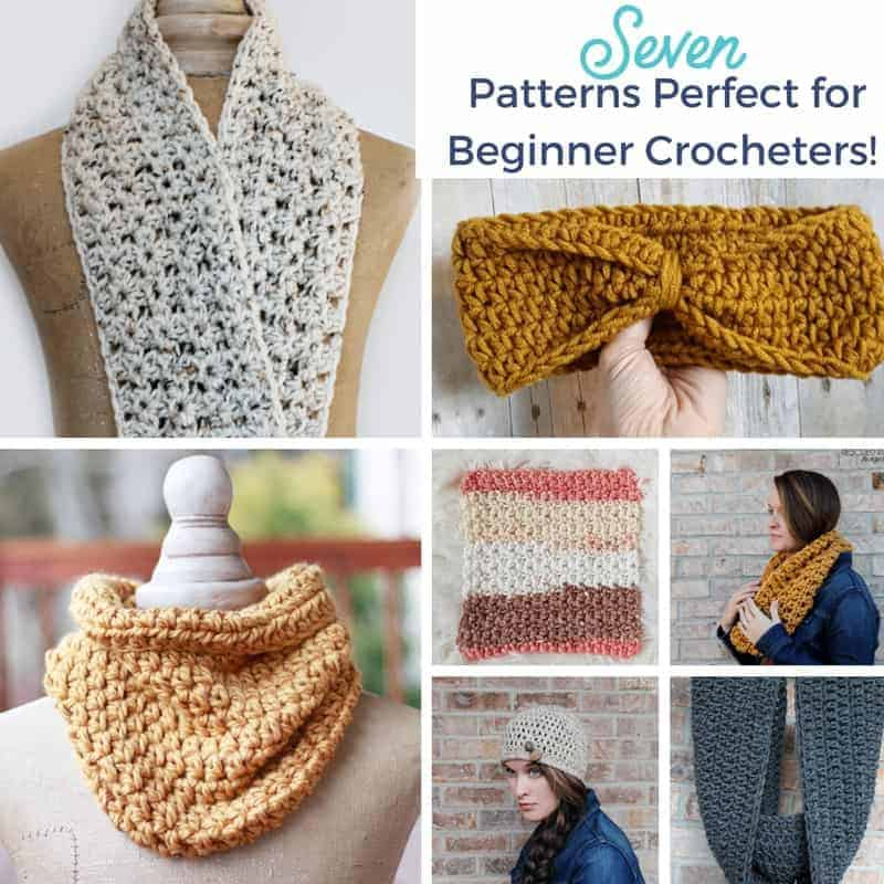 Free Crochet Patterns for Beginner Crocheters! 7 FREE Patterns!