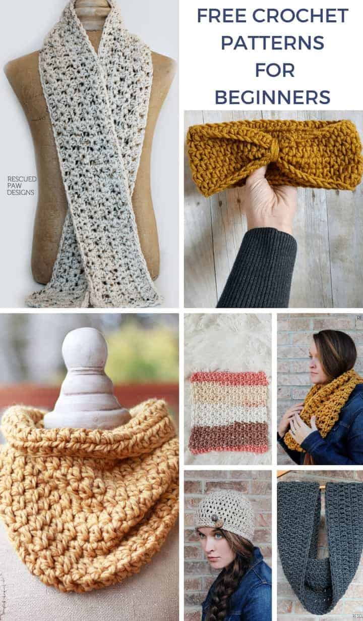 Easy Crochet Patterns for Beginners - Beginner Crochet Projects